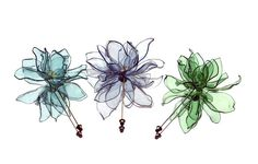 Upcycled Plastic Bottles: Unique & Beautiful Art lotus flower stick pin brooches made from plastic PET bottles