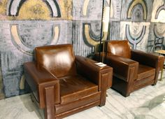 Pair of Arturo Pani Club Chairs 5
