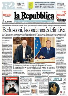 La Repubblica - 02.08.2013  Italian | True PDF | 56 Pages | 35 MB
