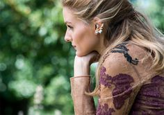 Olivia Palermo BaubleBar Jewelry Collection 2015  #fashion #earcuff