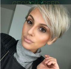 ¡Cortes de pelo modernos! ¡Los peinados más bellos de hoy! Después de que hayas visto estos, inmediatamente quieres ir a la peluquería.