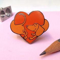 Hound Of Love Enamel Pin Badge - pins & brooches