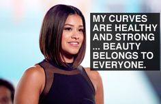 When Gina Rodriguez loved her body. | 19 Times Hollywood Women Were Inspiring AF In 2016