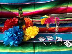 Papel Picado Cupcake Toppers  Fiesta  Wedding  by RockinSugarSkull, $15.00