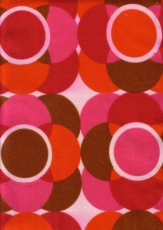 red, orange, pink