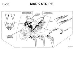 Katalog Suku Cadang Motor Honda Blade 125 FI K47
