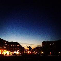 Göteborg during Earth Hour