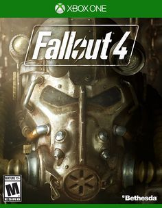 Fallout 4 – Xbox One - Bethesda Game Studios, the award-winning creators of Fallout 3 and The Elder Scrolls V: Skyrim, welcome you to the world of Fallout 4 – their most ambitious game ever, and the next generation of open-world gaming. The Elder Scrolls, Jeux Xbox One, Xbox One Games, Ps4 Games, Playstation Games, Games Consoles, Fallout 3, Skyrim, Wii