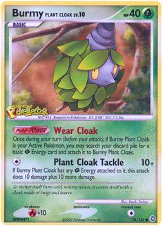 Burmy Plant Cloak - Secret Wonders #78