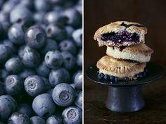 Bilberry and Marzipan Tartlet by zapxpau.blogspot.com: Maybe I could use blueberries instead. #Bilberry #Marsipan #Tartelette #zapxpzau