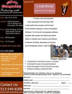 Computer summer camp for kids