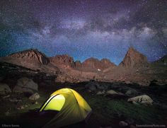 Backpacking Kings Canyon Milky Way by Steve Sieren via 500px
