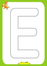 Planse de colorat alfabetul Alphabet coloring page