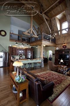 metal barn homes floor plans | Barn Home Sand Creek Post & Beam