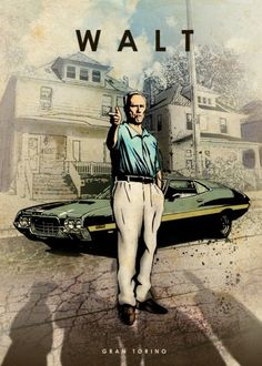 gran torino walt kowalski clint eastwood car legends legend muscle Characters