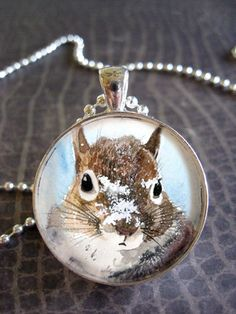 collectable wearable fine art handmade pendant by annalee377
