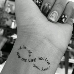Pretty tattoo...but it would have to be something REALLY meaningful to me like the names of my babies...