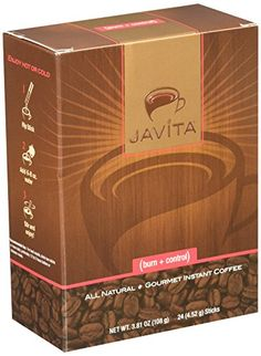 Burn Control Weightloss Gourmet Instant Coffee by Javita - 24 Sticks, Net Wt. Ounce >>> You can get more details here : Appetite Control Suppressants Slimming Coffee, Lose Weight, Weight Loss, Appetite Control, Instant Coffee, Blended Coffee, Cream And Sugar, Weight Management, Feel Better