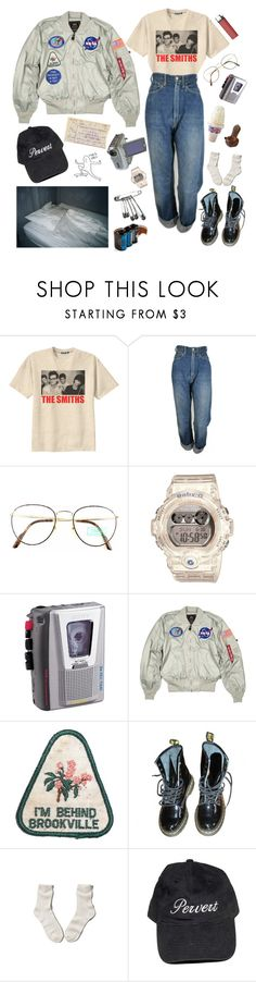 """88 mph"" by hazerdazer ❤ liked on Polyvore featuring Retrò, Levi's, Benetton, Baby-G, Sony, Dr. Martens, Abercrombie & Fitch and Lomography"