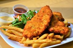 Special This Week! Enjoy our Homemade #ChickenFingers! A great way to start your week! cafedeboston.com #lunch #cateringboston