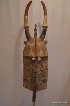 Large Old Bobo Molo Mask from Burkina Faso