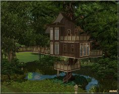 Tree House / The Sims 3 (Download) omg i want this altho i don't have sims