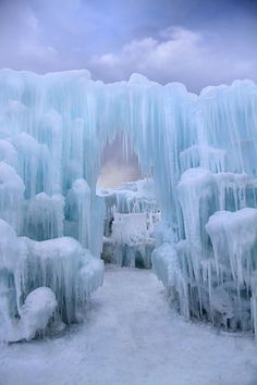 Icy Fortress by Jen Millard, via 500px