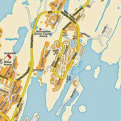MapasBlog: Mapas de Nuuk - Groelândia