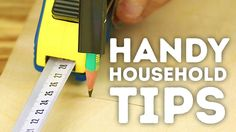 Handy household tips to make DIY much EASIER! l 5-MINUTE CRAFTS Some DIY chores are difficult to undertake but with our quick and handy household tips, you'l...