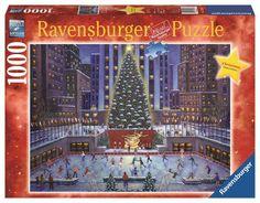 Ravensburger Puslespill - Jul i New York 1000 brikker