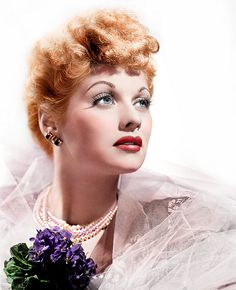 O, Lucy! One of the funniest women who ever was in any era that ever was. A showgirl goof. You are ba-bay-B-E-beautiful, Lucille Ball.