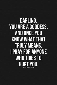Darling, YOU are a Goddess   ZsaZsa Bellagio - Like No Other