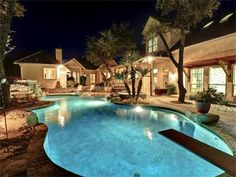 Build on to master. Make house wrap around pool in backyard.