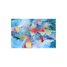 NOVICA Mexico Original Abstract Watercolor Painting ($700) ❤ liked on Polyvore featuring home, home decor, wall art, abstract paintings, paintings, spanish home decor, novica, novica paintings, spanish paintings and novica home decor