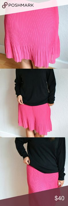 Pink skirt Super cute and chic pink skirt INC International Concepts Skirts A-Line or Full