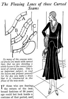 Moda Retro Vintage - Click through for images of many sewing patterns & techniques