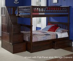 ★ Buy Atlantic Furniture Full over full columbia Bunk Bed with stairs and Kids Bedroom furniture ★ Atlantic Furniture Columbia stairway bunkbeds in Full size ★ Wide Selection of Atlantic Furniture Columbia bunk beds with stairs steps