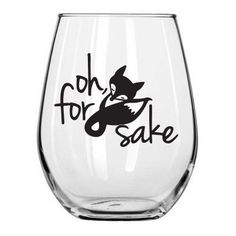 Hey, I found this really awesome Etsy listing at https://www.etsy.com/listing/260717847/for-fox-sake-stemless-wine-glass-pick