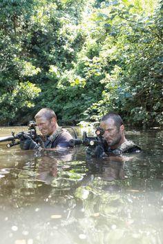 Strike Back: Shadow Warfare's energy will seduce you Sgt Micheal Stonebridge (Philip Winchester) and Sgt Damien Scott (Sullivan Stapleton) go deep in Strike Back: Shadow Warfare (Picture: LeftBankPictures/David Bloomer)