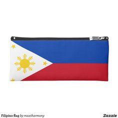 Filipino flag pencil case