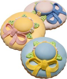 Spring Bonnet Cookies- Vermont Country Store http://www.vermontcountrystore.com/