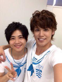 Mamo with Kaji-kun! Cute~  #miyanomamoru #yukikaji