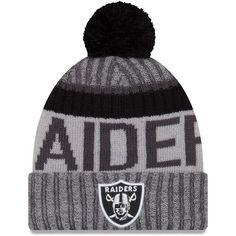 Oakland Raiders New Season Sports Beanie Cuffed Winter Knit Cap Clima Frío f3784ea10d8