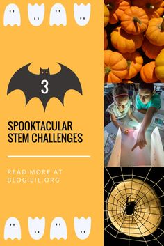 Are you looking to incorporate spooky Halloween fun into your engineering classroom this month? Check out our special Halloween STEM activities for kids. Engineering Challenges, Engineering Projects, Stem Challenges, Preschool Science Activities, Activities For Kids, Spooky Halloween, Early Learning, Classroom, Scary Halloween
