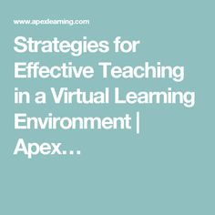 virtual learning environment in education essay View virtual learning environments research papers given these positive results for the use of virtual reality in education virtual learning environment.