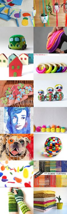 We love colors!!! by Ivana Nikolic on Etsy--Pinned with TreasuryPin.com