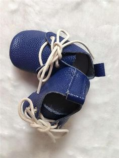 Genuine Leather Baby Lace up Moccasins