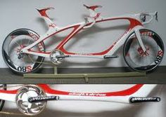 A cool looking tandem. Pity it's only a concept road bike