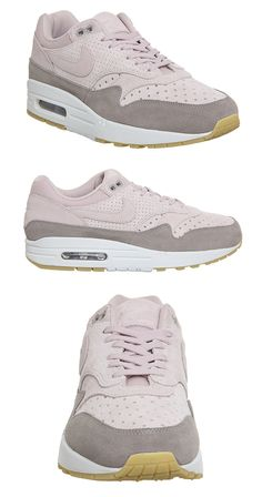 a9e561adb620 Nike Air Max in Suede. Nike Air Max 1 Trainers Particle Beige