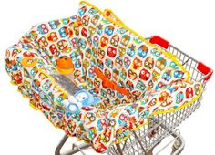 Amazon.com : Grocery & Shopping Cart Cover for Baby used in High Chair As Well, Grab with Free Stroller Hook and Awesome Game Ideas : Baby